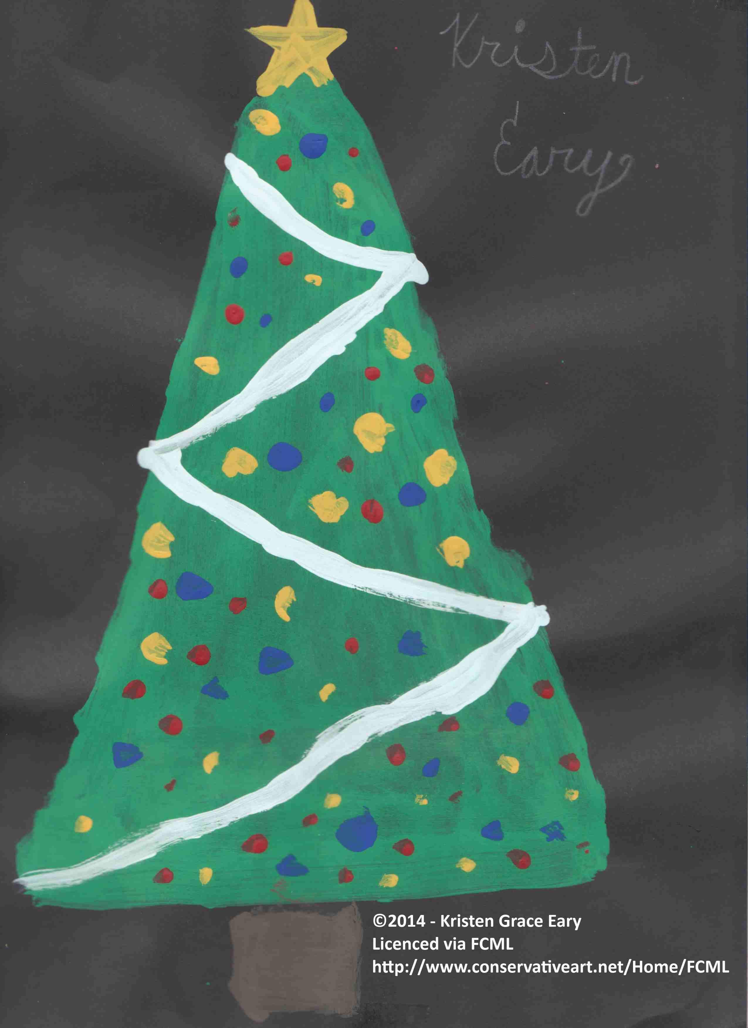 Tree Kristen Grace Eary drew